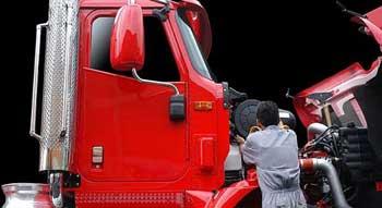 Man Working on Truck